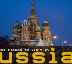 List of the Best Places in Russia