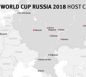 Russia World Cup Host Cities
