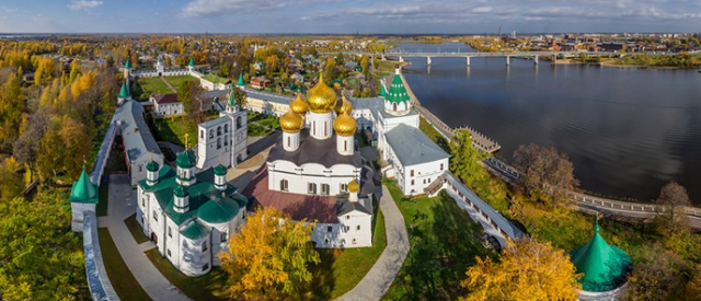 The Golden Ring City, Russia.