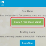 How to Create Bitcoin Account through Blockchain