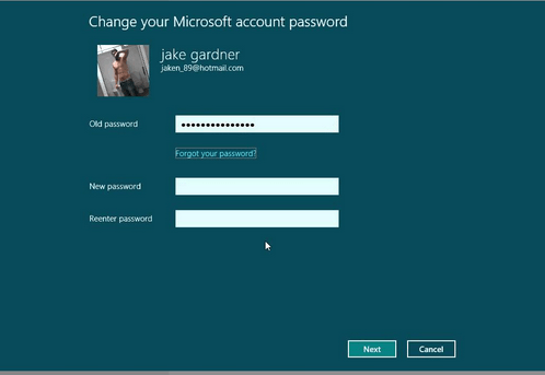 How to Change Computer User Account Password to a New One