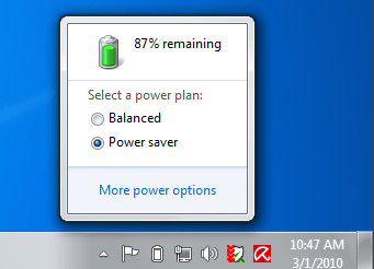 How to Manage Windows 7 Battery Power Plans.