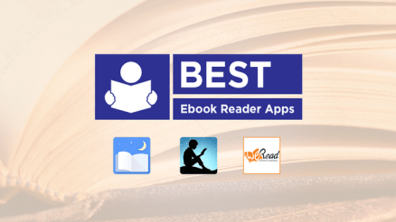 List of the Best EBook Reading Apps.