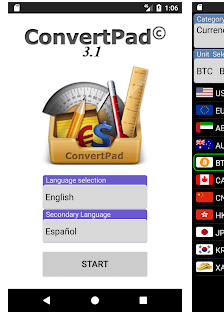 ConvertPad Currency Converter.