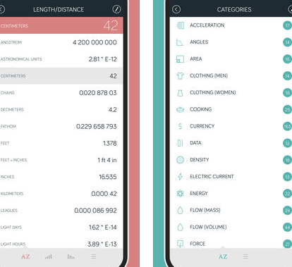 Amount Currency Converter for iPhone.