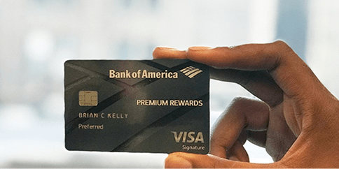 The Bank of America® Premium Rewards® Credit Card.