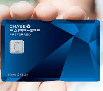 The Chase Sapphire Preferred® Card.