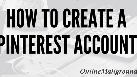 How to Create Pinterest Social Account.