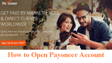 How to Open Payoneer Account.