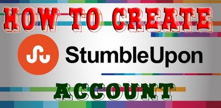 How to Create stumbleUpon Account.