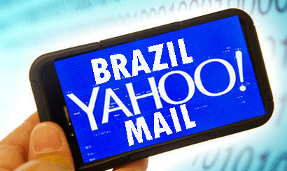 Brazil Yahoo Mail Signup Procedure.