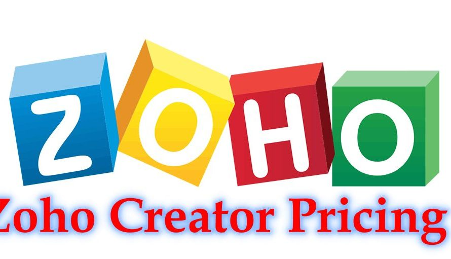 www.zoho.com features – Zoho Creator Pricing: Zoho Creator Registration