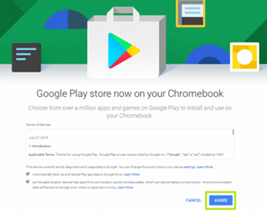Image: Apps on Chromebook