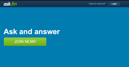 Image: Ask.Fm Account