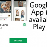 Download Standlone Google Lens App on Playstore