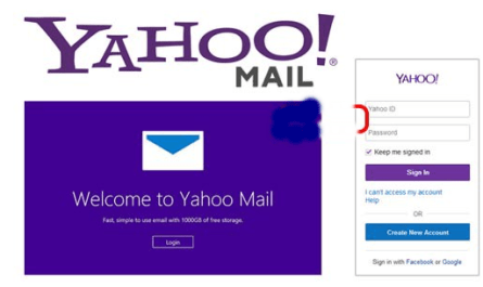 Image: Yahoo Mail Account