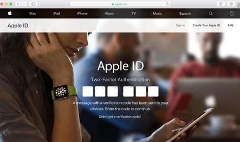 New Apple ID Account – Apple Mail Registration Page