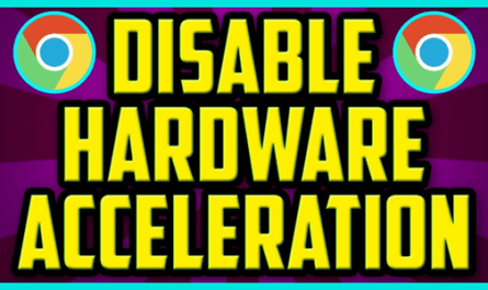 Image: Disable Hardware Acceleration