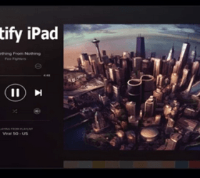 Image: Spotify iPad
