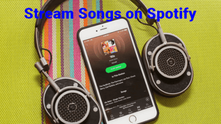 Image: Stream Songs on Spotify