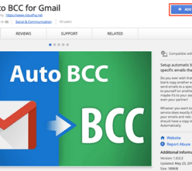 Logo: Auto BCC Yourself in Gmail