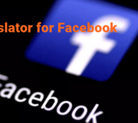 Logo: Translator for Facebook