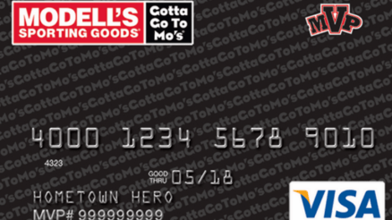 Modells credit card