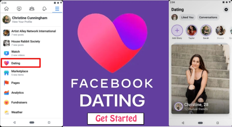 Facebook Dating Page image