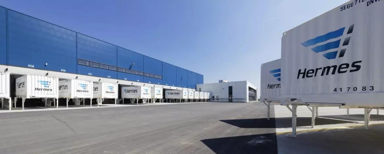 Hermes Logistik-Center in Bad Rappenau (Foto: Hermes)