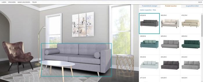 Amazon Showroom: Amazon.de launcht neues virtuelles Feature für den Online-Möbelkauf