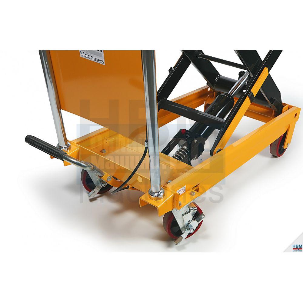 Мобилна повдигаща платформа HBM 01779 /350 kg. 350мм- 1300мм/ - Цена - Продажба