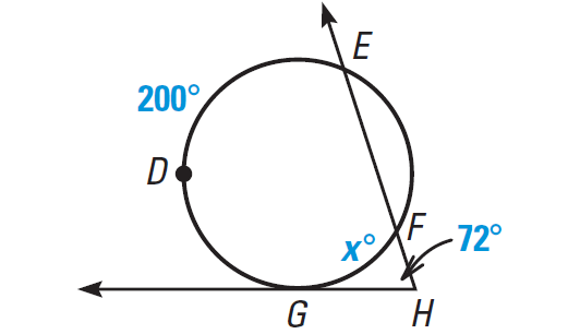 26 Angle Relationships In Circles Worksheet Answers