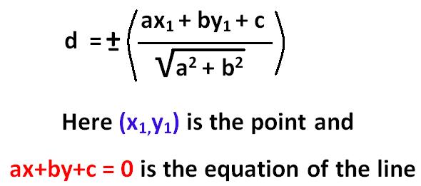 Perpendicular Distance Calculator