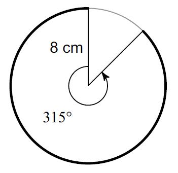 Arc length worksheet