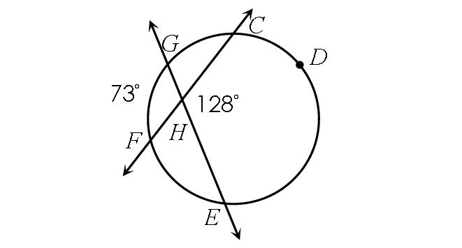 Arc and Angle Relationships in Circles Worksheet