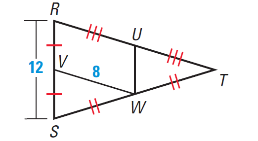 Midsegment theorem worksheet