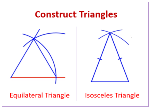 Construct Triangles (examples, solutions, worksheets, videos, games, activities)