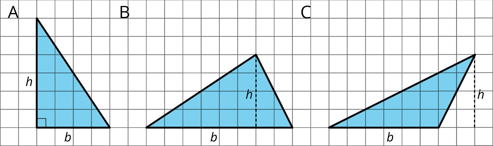 hight resolution of Formula for the Area of a Triangle: Illustrative Mathematics