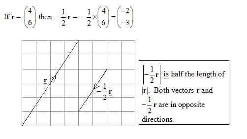 multiplying vector