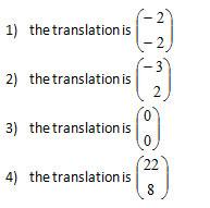 Translation Of A Point