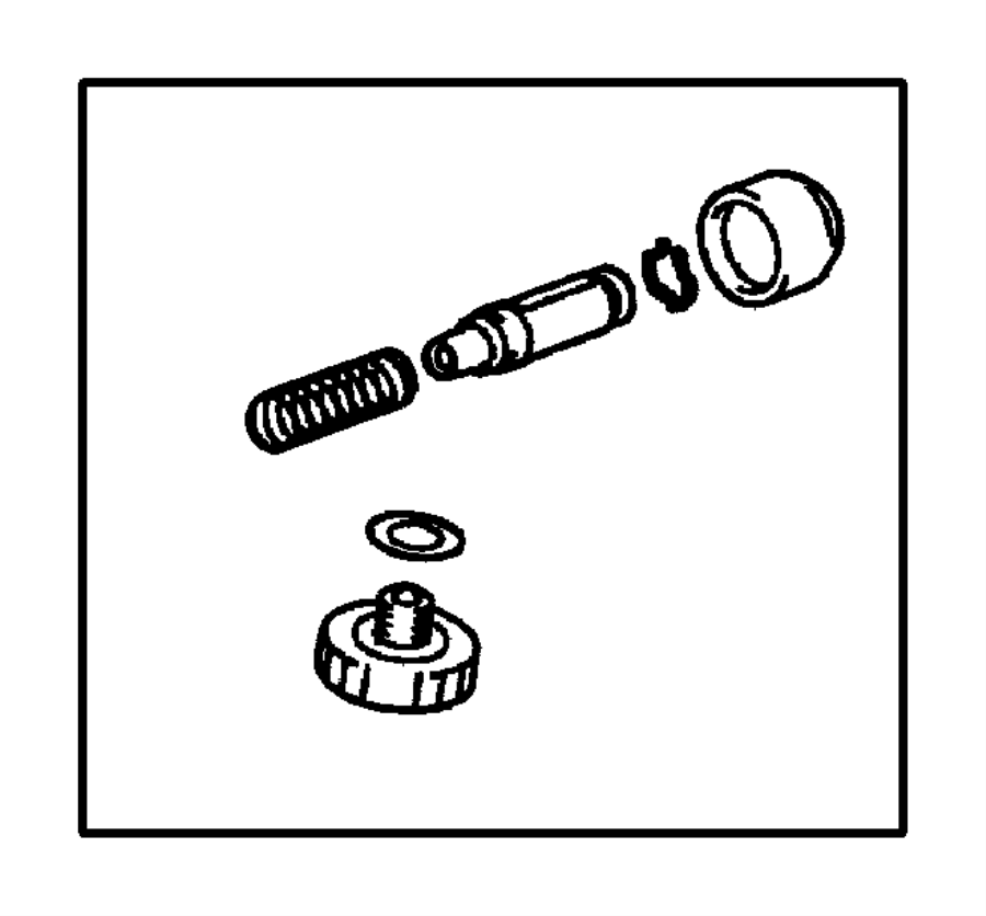 1996 Mazda B3000 Clutch Master Cylinder Repair Kit. 626