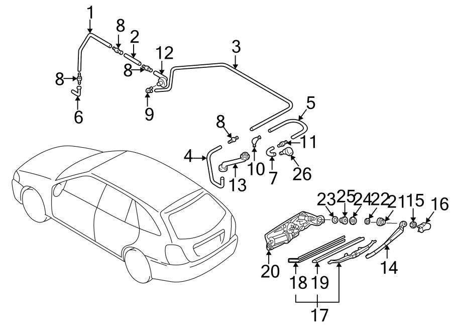 2003 Mazda Protege5 Engine Diagram : 2003 Mazda Protege