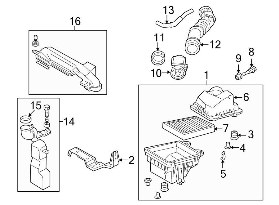 Mazda Protege Air Filter Housing. Upper; 1.8 LITER; 2.0