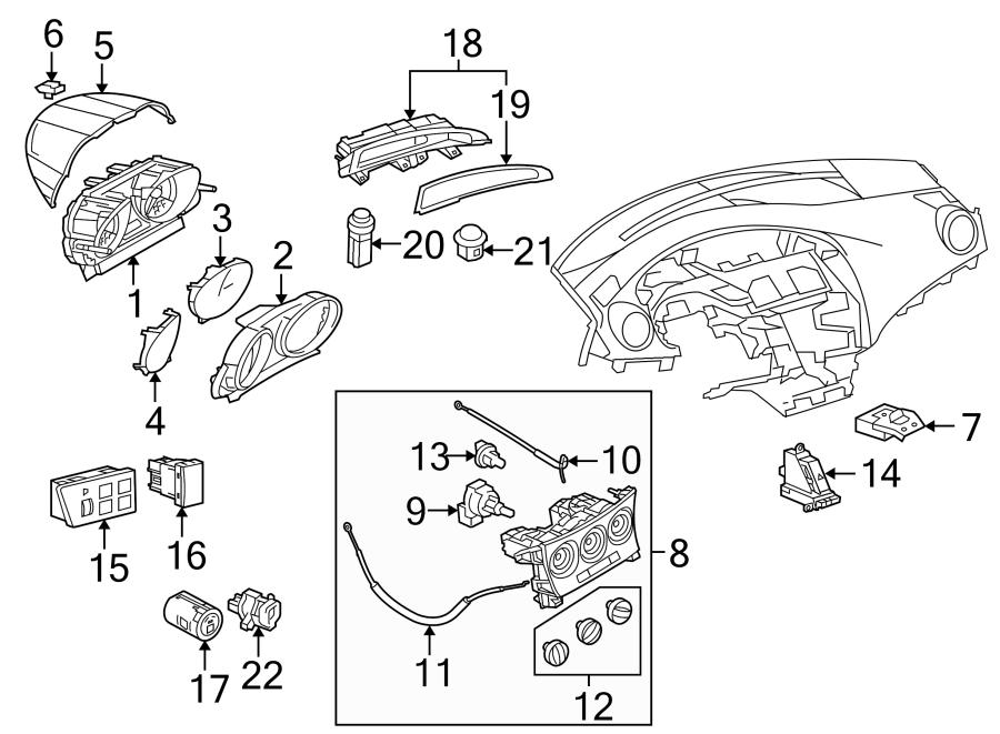 Mazda 3 Sun Load Temperature Sensor. Auto, Control