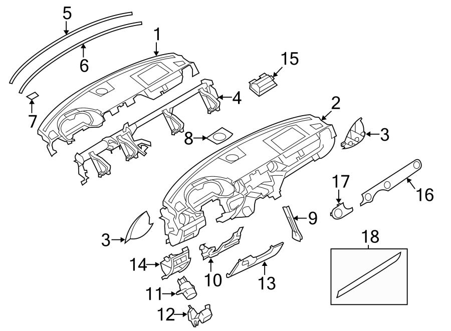 Mazda MX-5 Miata Cabin Air Temperature Sensor. Mazda3