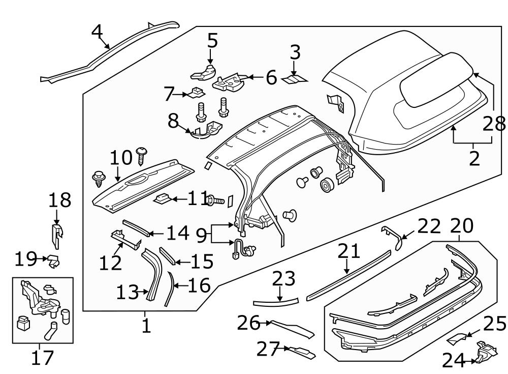 Mazda Body Parts Diagram Decertic