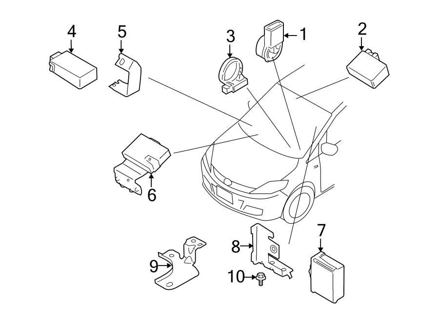 Mazda 3 Ignition Immobilizer Antenna. IGNITION IMMOBILIZER