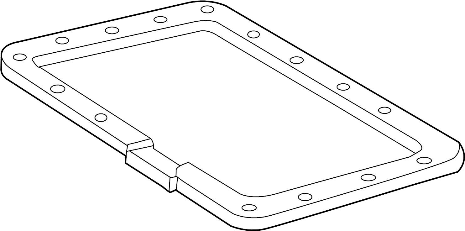 Mazda B3000 Automatic Transmission Oil Pan Gasket. AUTO