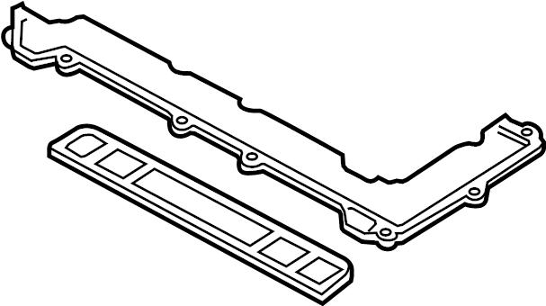 2015 Mazda Gasket. COVER. Valve. SEAL. Baffle. (4 PCS