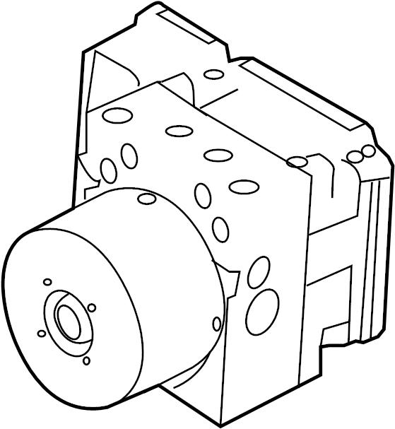 Mazda 3 Abs. Hydraulic. Modulator. Control, unit